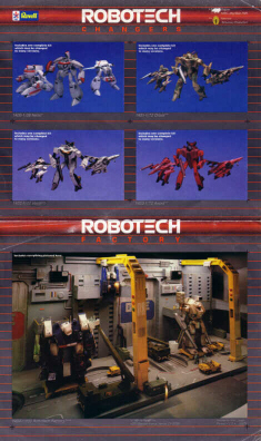 Robotech Defenders Ad (Side 2)